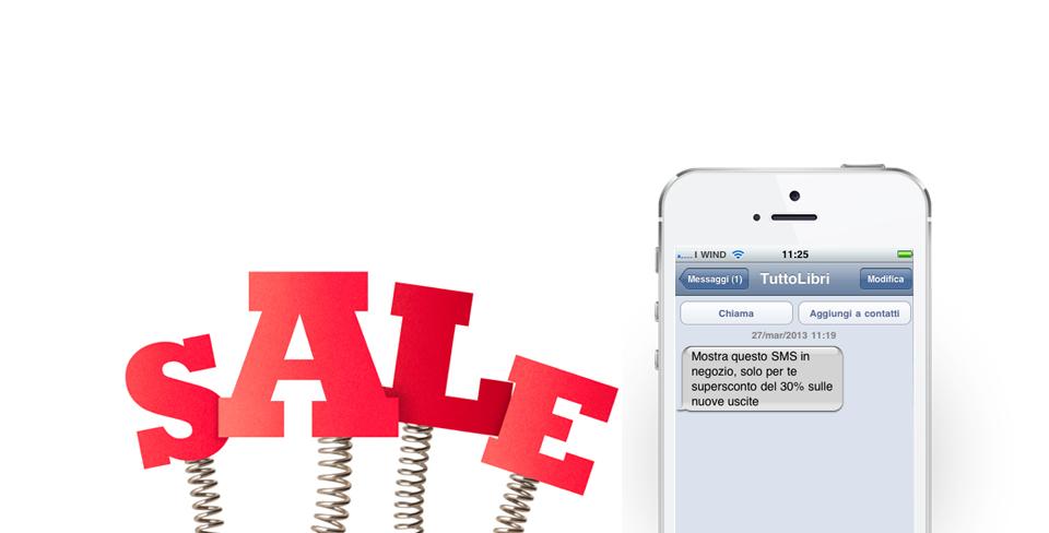 Skebby invia SMS automatici per offerte commerciali negozianti, customer care e promozioni