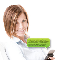 comunica con gli SMS